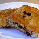 Sweet Raisin and Rosemary Focaccia Bread