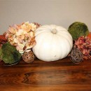 Autumn Centerpiece with Pumpkins